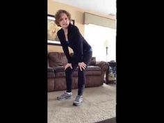Squat Lunge Combo--Tone your lower half with this combo move--lunges and squats!