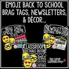 Emoji Classroom • Emoji's Everywhere...