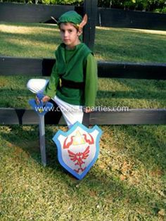 Link Costume I made for my son