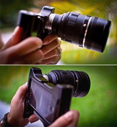 iPhone DSLR #iwant