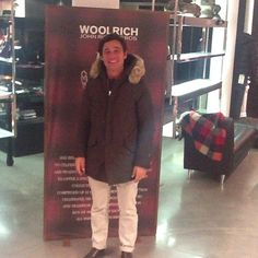 What does a parka make me feel? I Feel at home and safe …#yubeloveswoolrich