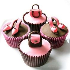 Ideas de pasteles y cupcakes fashion