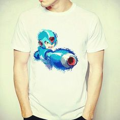 Not all heroes are comic characters. Mega Man the classic video game hero  https://www.hitpointarcade.com/collections/tees/products/mega-man-blast-you-tee  #retrotees #gamingtees #gaming merchandise #gaming #megaman #capcom #videogames #gameboymerchandise #gameboy #videogametees #8bit #retro #classicgames