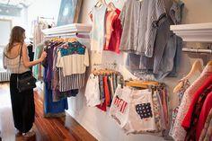 Surprisingly affordable vintage clothing at Bridge + Bardot (1138 Dundas St. West)