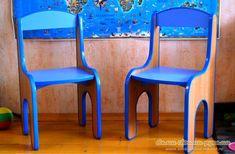 Детский стульчик из ЛДСП