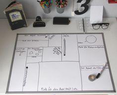 Schreibtisch-Unterlage DIY by Emmas Welt