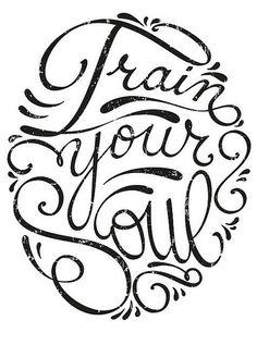 Train Your Soul By Simone Giorgio Via Behance