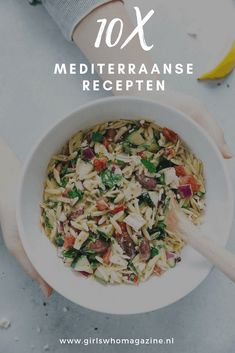 10 x Super healthy Mediterranean recipes GIRLS WHO MAGAZINE - Mediterranean recipes recipes to start the week with. Baby Food Recipes, Cooking Recipes, Healthy Recipes, Instant Pot Baby Food, Exotic Food, Mediterranean Recipes, Light Recipes, Food Inspiration, Good Food