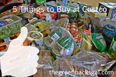 5 Things to Buy at Costco that offer the best bargain for your membership price. But who can stop at only 5 things????