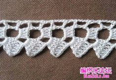 Loza: Crochet edges http://loza10.blogspot.com/2014/10/crochet-edges.html?m=1