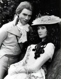 Sink me, the lady's a poet!  (Anthony Andrews and Jane Seymour in The Scarlet Pimpernel, 1982)