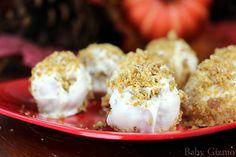 Your new Thanksgiving Dessert! Pumpkin Cake Bites CookLikeaPRO AD @kenmore