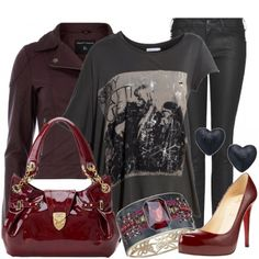 Breaking Dawn Part 2 inspired outfit styled on Fantasy Shopper