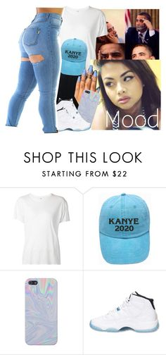 """""""when people voted for trump I'm just like ✌"""" by jchristina ❤ liked on Polyvore featuring R13 and Retrò"""