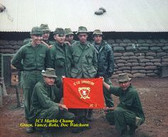 Marine 'C' co., 3rd Recon Battalion. Vietnam War