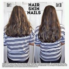 Helps grow hair make it shine and get strong long nails😍 Growing Long Hair Faster, Grow Thicker Hair, Help Hair Grow, Longer Hair Faster, Growing Your Hair Out, Grow Long Hair, Hair Fall Control, Natural Hair Styles, Long Hair Styles