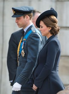 Catherine, Duchess of Cambridge and Prince William, Duke of Cambridge attend a Service of Commemoration for troops who were stationed in Afghanistan on 13.03.2015 in London, England