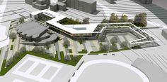 1. Ödül - ODTÜ Öğrenci Merkezi Binası ve ODTÜ Meydanı Mimari Proje Yarışması - kolokyum.com