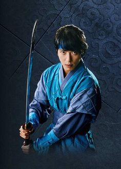 Jung Yong Hwa as Park Dalhyang in The Three Musketeers