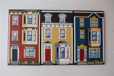 Jellybean row houses