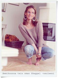 My Seiko – Kalastajan vaimo Seiko, Handicraft, Warm Weather, Spring Fashion, Style Me, Fashion Beauty, Style Inspiration, Pullover, Crochet