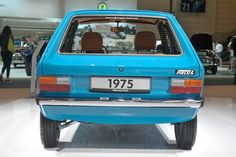 Volkswagen Polo L modelo 1975 #vwpolo #volkswagenpolo
