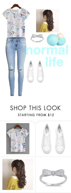 """""""normal life"""" by yayme2 ❤ liked on Polyvore featuring H&M and River Island"""