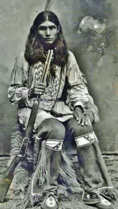 Going by his dress, he is not Lakota, but that's okay. I can still be part of the Clan.