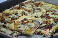 Slovak Recipes, Czech Recipes, Ethnic Recipes, No Salt Recipes, Diet Recipes, Cooking Recipes, Pizza Burgers, Frozen Puff Pastry, Quiche