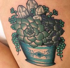 Succulents tattoo:)