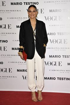 Todas las fotos de la alfombra roja de la fiesta Mario Testino y Vogue: Laura Ponte