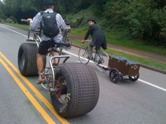 Well the FAT BIKE is popular at the moment.