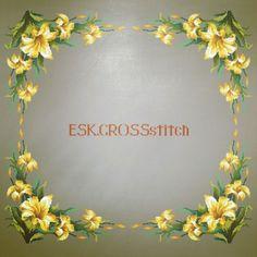 La imagen puede contener: flor y texto Cross Stitch, Instagram, Punto De Cruz, Dots, Needlepoint, Seed Stitch, Cross Stitches, Crossstitch, Punto Croce