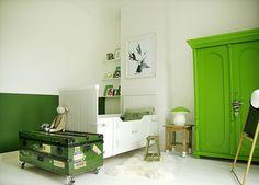 boy room green - pinned by Idea Concept Design. Green Boys Room, Green Rooms, Creation Deco, Home Goods Decor, Boy Room, Kids Bedroom, Room Inspiration, Room Decor, Interior Design