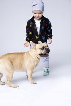 Kinderkleidung - Kinderpulli Hunde - ein Designerstück von mamatu bei DaWanda