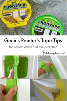 how to get crisp paint lines
