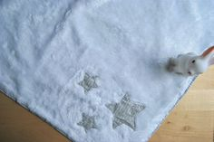 DIY: Mantita calentita para bebé. Baby blanket handmade.