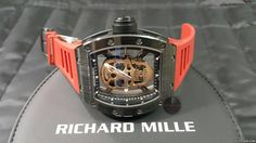 Richard Mille RM 052 ad: price on request Richard Mille 52-01 Limited Editions Tourb Skull Ceramic Ref. No. RM 052-01; Ceramic; Manual winding; Condition 1 (mint); Year 2016; With box; With pape