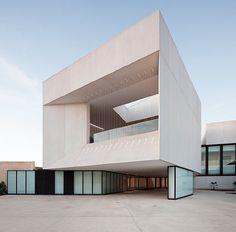 Almonte in Huelva. New Theatre by Donaire Arquitectos.