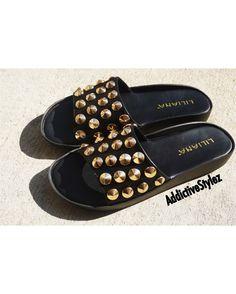 48a5b7934ad711 Fiasco Studded Sandals Trendy Dresses