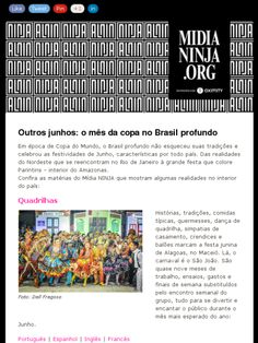 Salve, Midia Ninja! Mostrando o brasil de verdade!