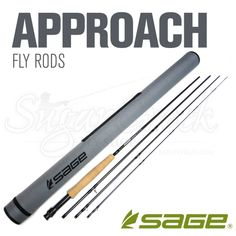 Sage Approach Fly Rod | Grizzly Hackle Fly Shop | Free Shipping on all orders