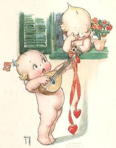 """The name Kewpie, is derived from """"cupid"""" the Roman god of beauty."""