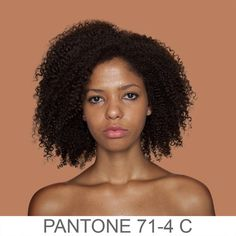 Panton Portraits- People in front of backgrounds that very nearly match their skintones. *gorgeous!*