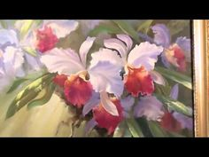 Artist Igor Sakharov. Learning to Draw Orchids