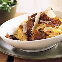 Recept - Romige tagliatelle met oesterzwammen - Allerhande