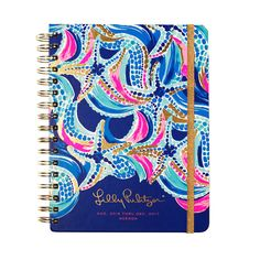 2016-2017 Lilly Pulitzer Large Agenda - Ocean Jewels by Lilly Pulitzer from THE LUCKY KNOT - 1
