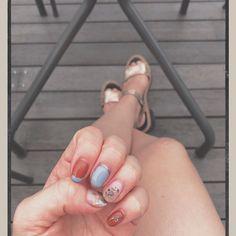 * 💅🏻も秋仕様に🍁🍄🌰 Heart Ring, Nails, Rings, Jewelry, Finger Nails, Jewlery, Ongles, Jewerly, Ring
