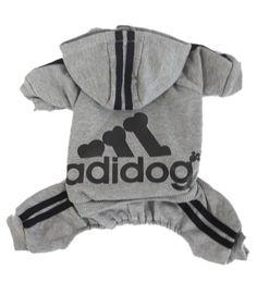 Corgi Adidas logo adidogs shirt