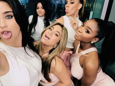 ||Fifth Harmony|| Lauran (she's so hot), Ally (she's super cute), Camila (my fav), Dinah Jane (she's absolutely beautiful), and Normani (she's gorgeous!)